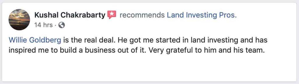 Kushal Chakrabarty's Facebook review